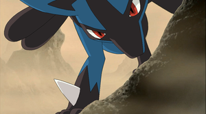 Pokemon Base 157~Lucario 6~