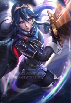 Lucina by sakimichan