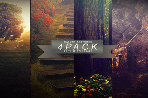 Nature Texture Pack 1- 4 Textures by ThisBirtchCrazy