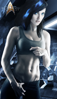Blue Tiran at the Gym | Star Trek: Theurgy by Auctor-Lucan