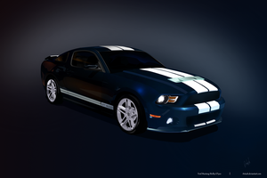 Ford Mustang Shelby gt500 vc by Artush