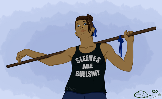 Beau's New Shirt by The-Emerald-Otter