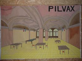 Pilvax Cafe by Aloonthar