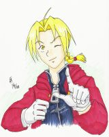 Edward Elric for Tai by mayorlight