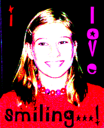 I love smiling.... by Cicia