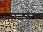 Stones Seamless Patterns by xara24