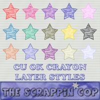 Crayon Layer Styles by debh945