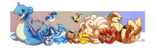 Some POKEMAAANS. by Shalinka