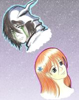Ulquiorra And Orihime by MadeInHeavenFF15