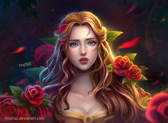 Disney Princess Belle - Beauty and the beast by TinyTruc