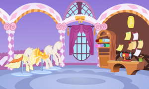 Rarities work room by Vector-Brony