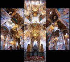 Church of the Savior on Blood by DesteN