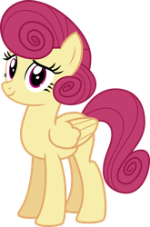 Mlp Fim Flutterrmom (happy) vector by luckreza8