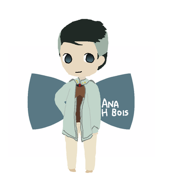 Lineless Chibi Professor Port by anahbois