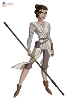 Rey - DCAU Style by JTSEntertainment