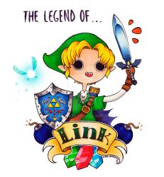 The Legend of... Link! by maga-a7x