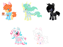 .:Themed Pony Adopts:. TAKEN by foxitae