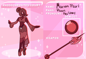 RC App: Maroon Pearl by Taii-of-Kaon