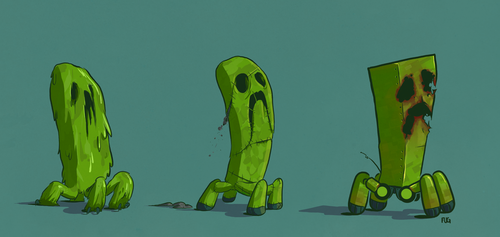 Creeper Concepts by BoyFugly
