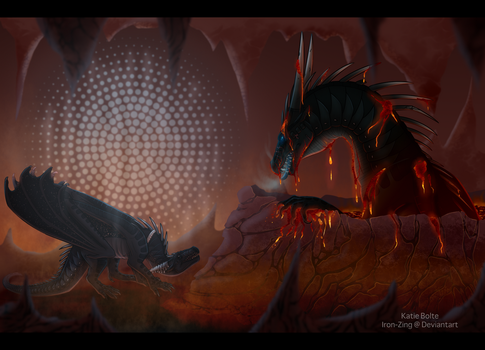 Dissapointment- collab with xTheDragonRebornx by Iron-Zing