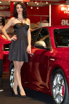 Auto Show Beauty by drknyght6