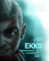 EKKO (League of Legends Fan art) by ARISA777o-w-o