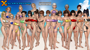 Illusion Swimsuits for XNALara/XPS by XPS-Fanatic
