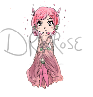 Garden Fairy Adopt English Rose [ Open ] by DriRose
