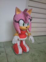 Amy Rose (Sculpture) by GCGblacknigth