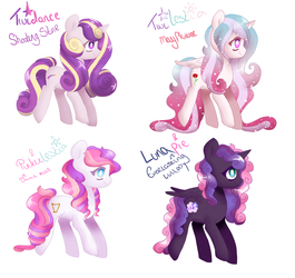 (CLOSED) MLP Adopts: Princess's and Pie by Kittii-Kat