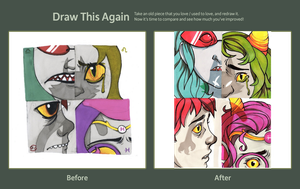 Draw this again-contest by QueenOfTheAntz