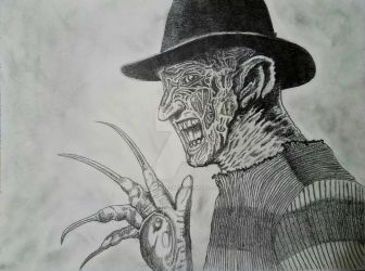 Freddy Krueger by 1nfinite-1ne