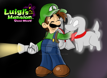 Luigi's Mansion Dark moon by MariobrosYaoiFan12