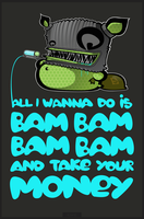 BAM BAM by KIWIE-FAT-MONSTER