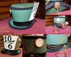 Steampunk Mad Hatter Hat by ADreamersImagination