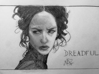 Penny Dreadful Sketch by NelsonBlakeII