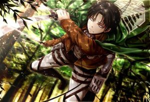 Levi x Reader - Survivors-Au- [P1/3] by aenafarooq on DeviantArt