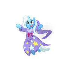 Trixie Supremecy Drawfest#5: The Witch of Heart by Supermeatbrony