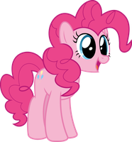 MLP Vector - Pinkie Pie #5 by jhayarr23