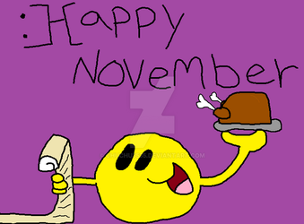 :]-[appy November by chuchu3535