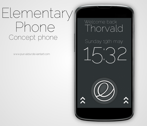 Elementary Touch - Welcome screen by purvaldur