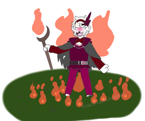 Why Sadrier isn't allowed to summon fire by PinkSeraphUniverse