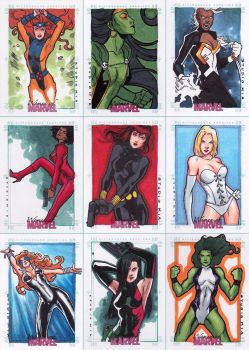 Women of Marvel - Pt. 1 by studiomia