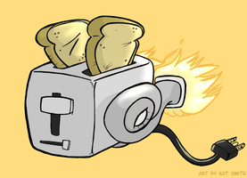 Turbo Toaster Logo by Miss-Interocitor