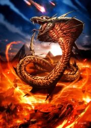 Apophis the destroyer by GENZOMAN