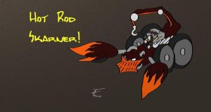 League of Legends - Hot Rod Skarner Skin Idea by Adamant-Soul