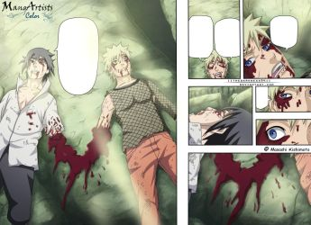Naruto 698: Bloody Brotherhood by IITheDarkness94II