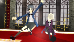 MMD Ciel and Alois by AnjuSendo