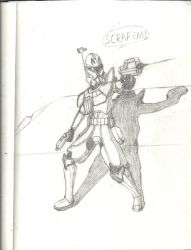 Star Wars: The Clone Wars: Captain Rex (Improved) by Sable-The-Wolf