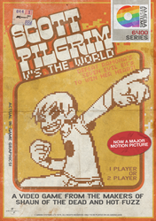 Scott Pilgrim Retro Video Game by ameba2k